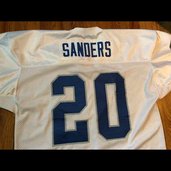 Berry Sanders Mitchell   Ness authentic throwback 3e3bbf589